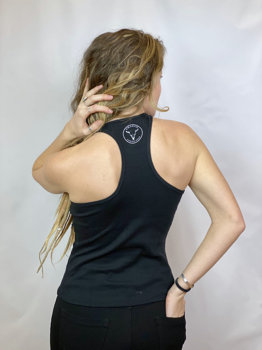 BLACK BUFFALO FITTED TANK