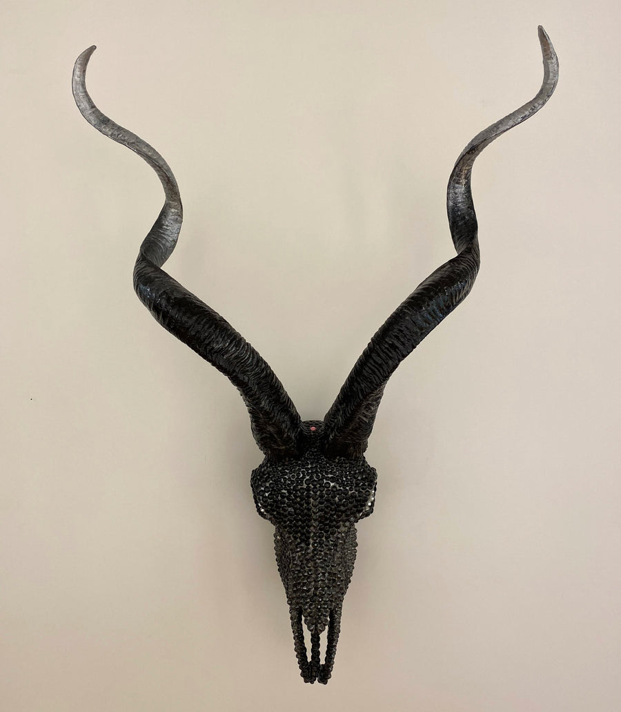 THE TYLER - EMBELLISHED BLACK TAIL SKULL