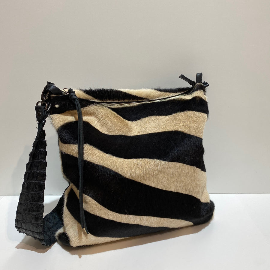 ZEBRA & CROCODILE BAG