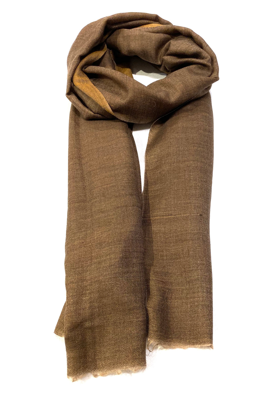 DOUBLE SIDED CASHMERE SCARF