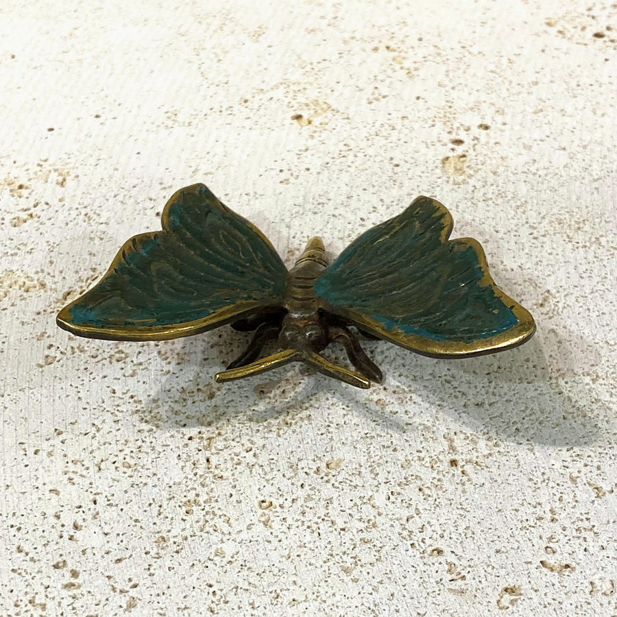 EMERALD GOLD BUTTERFLY