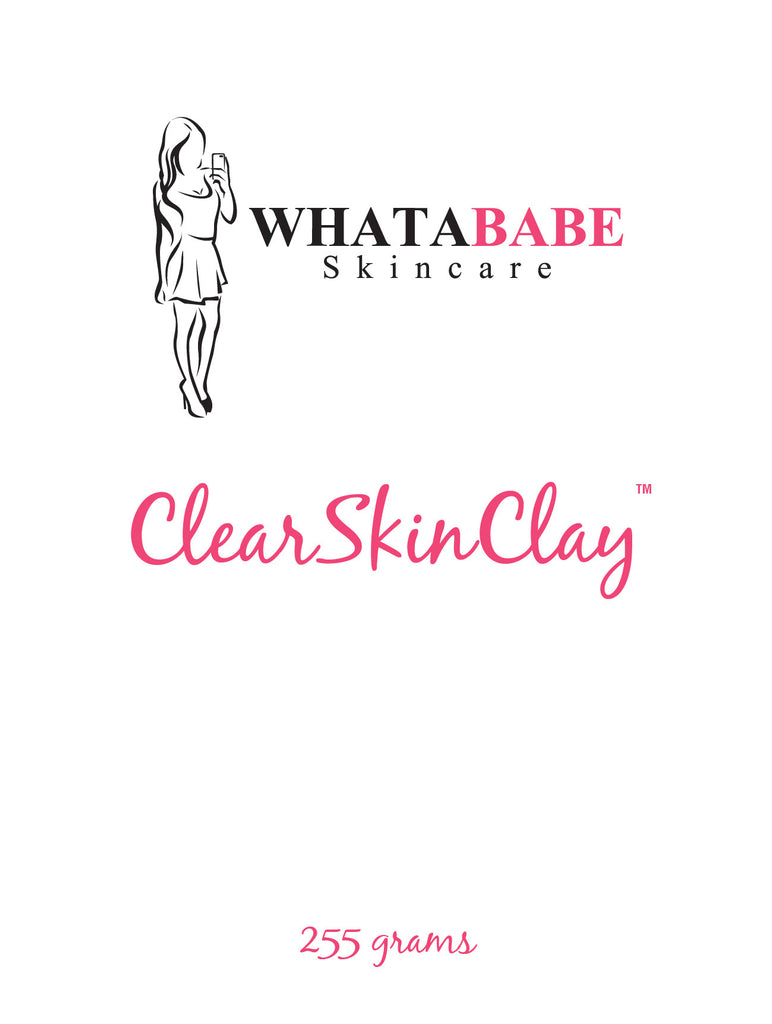 ClearSkinClay Label