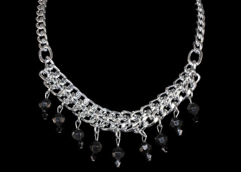 Beaded Simple Necklace - TRacy by Tracy Belben