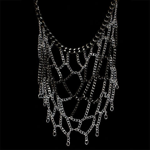 Sophisticated Web Necklace (Full) - TRacy by Tracy Belben