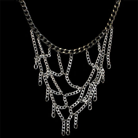 Sophisticated Web Necklace (Small) - TRacy by Tracy Belben