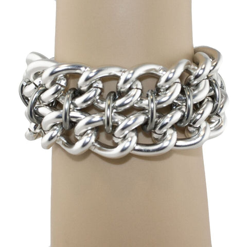 Classic Double Chain Bracelet - TRacy by Tracy Belben