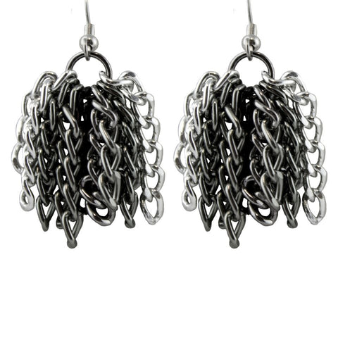 Sophisticated Multi Fringe Earrings - TRacy by Tracy Belben