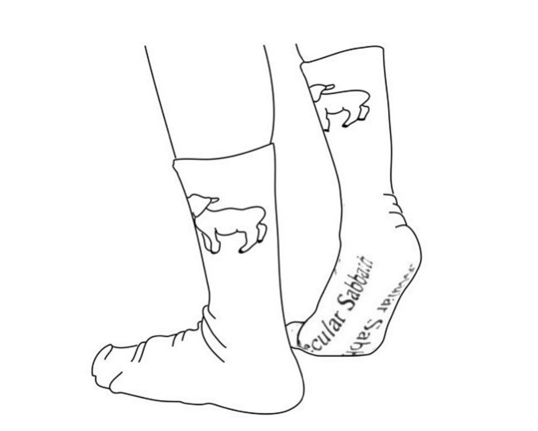 Secular Sabbath Socks - 1st Edition