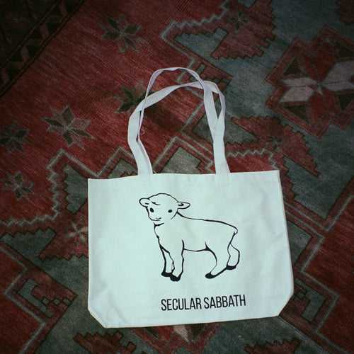 Secular Sabbath Canvas Tote Bag