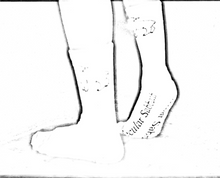 Load image into Gallery viewer, Secular Sabbath Socks - 1st Edition