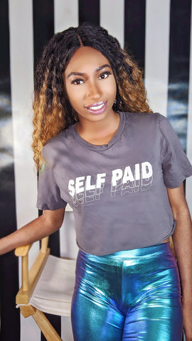 Self Paid Cropped T-Shirt