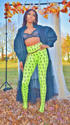 Lime Money Leggings