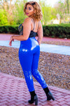 Nipsey Blue Latex Pants - I AM THE LIST