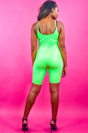 Neon Green Bodysuit - I AM THE LIST