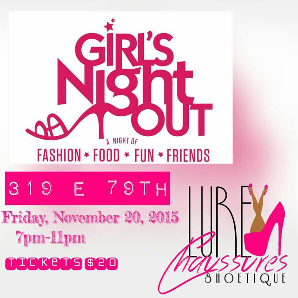 GIRLS NIGHT OUT!!! SHOPPING, FOOD, FRIENDS, FUN!!!! Click the Picture!