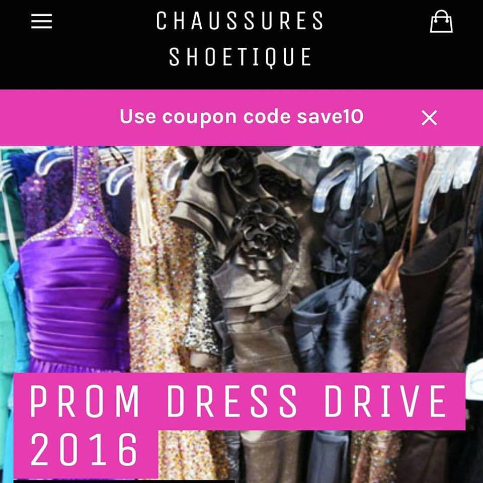 """Gift of Glamour 3"" Prom Dress Drive 2016"