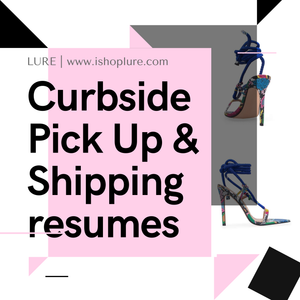 CURBSIDE & Resumed Shipping!