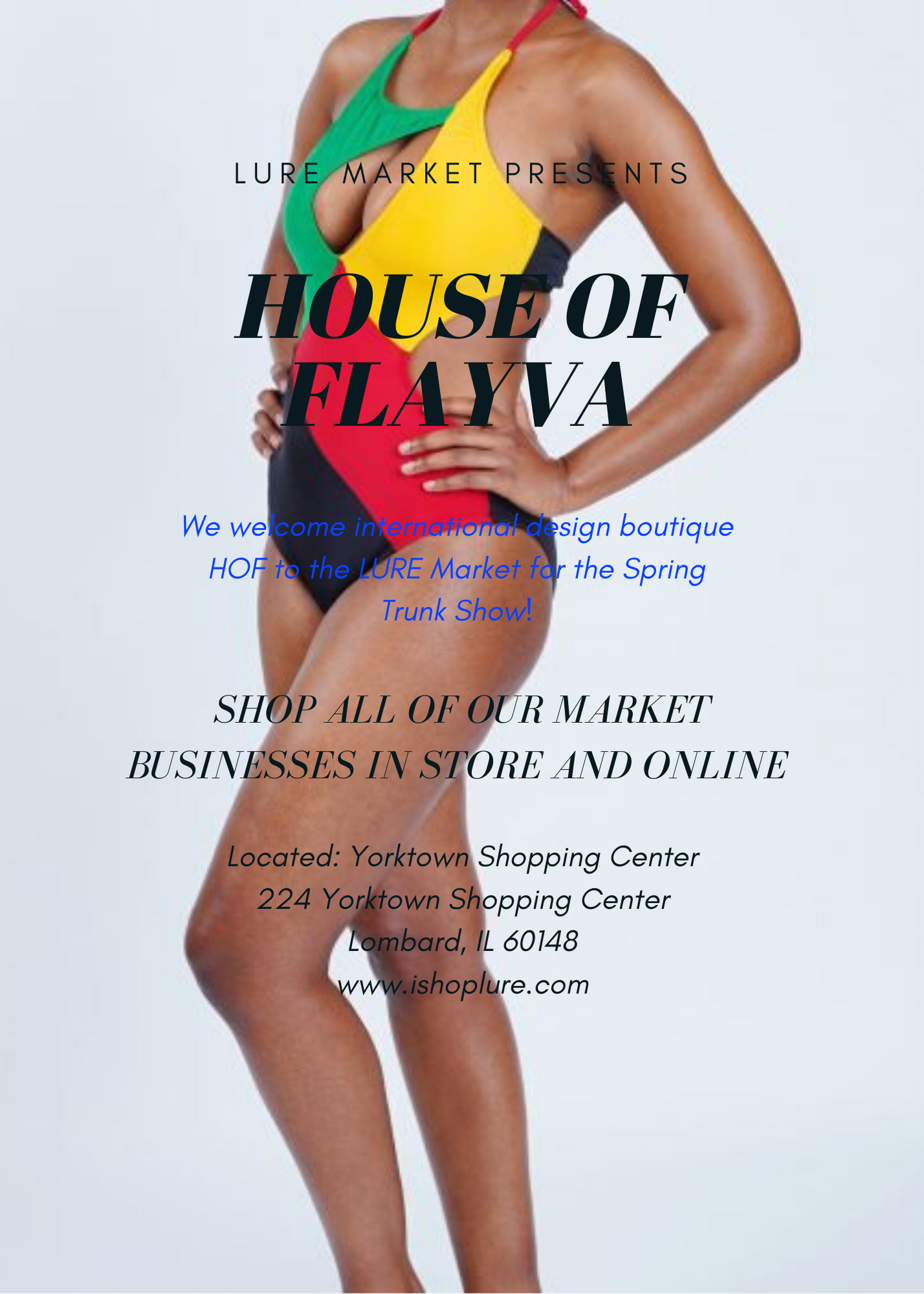 LURE Market Presents- House of Flayva