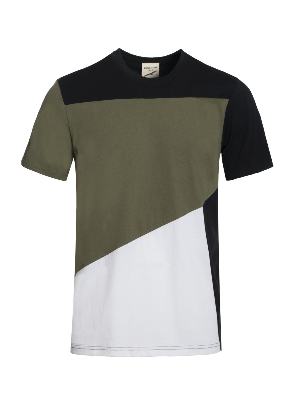 Olive Green Crew Neck Shirt - LURE Boutique