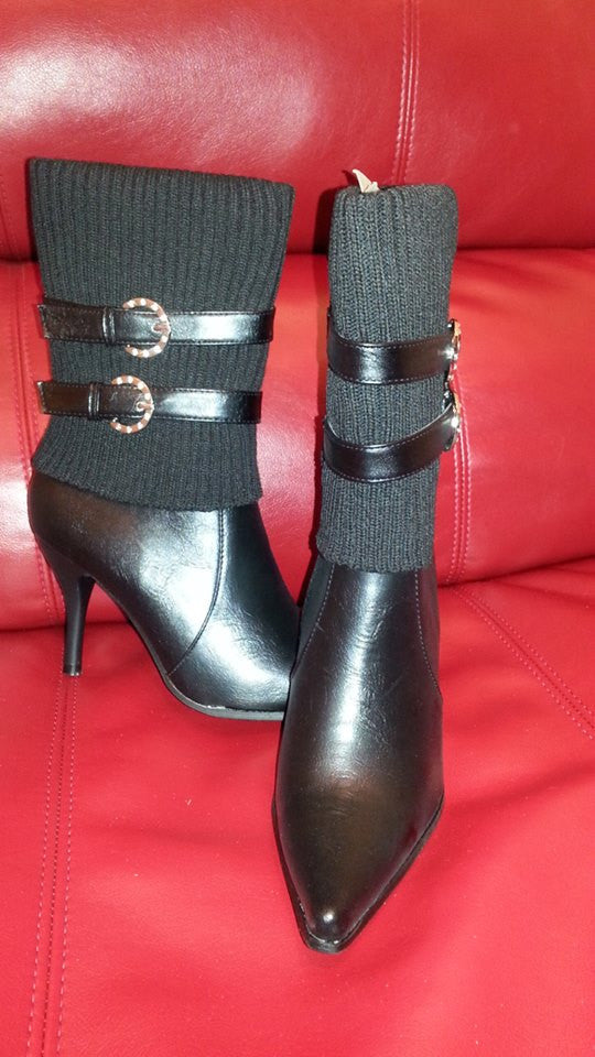 High Demand Calf Booties (Black) - LURE Boutique