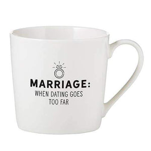 Cafe Mug-Dating Goes Too Far - LURE Boutique