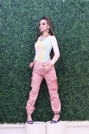 Cargo Joggers W/Fitted Ankles (3 Colors) - LURE Boutique