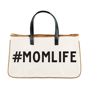 Momlife Leather Weekend Tote - LURE Boutique