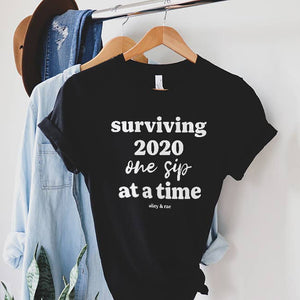 Surviving 2020 Tee Shirt - LURE Boutique