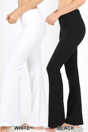 Premium Cotton Yoga Pants - LURE Boutique