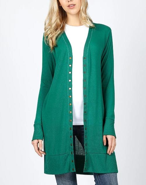 Long Sleeve Sweater Cardigan - LURE