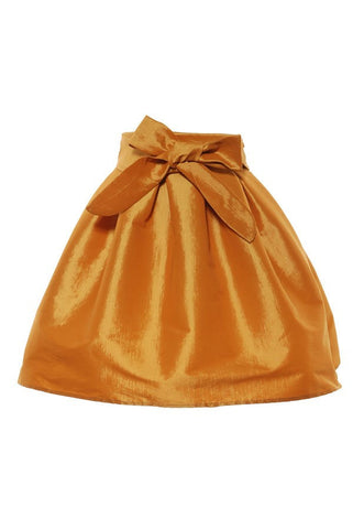 Atyme Taffeta Mustard Skirt - LURE CHAUSSURES SHOETIQUE
