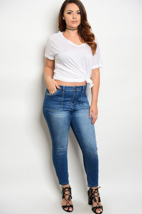 Avenue Denim Plus Size Jeans