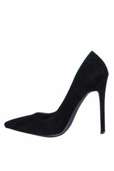 Black Velvet Crush Pumps - LURE Boutique
