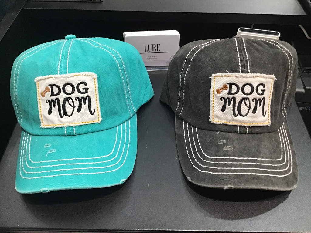 Dog Mom Adjustable Cap - LURE Boutique