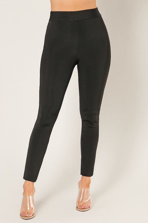 Bandage Slip On Pants - LURE Boutique