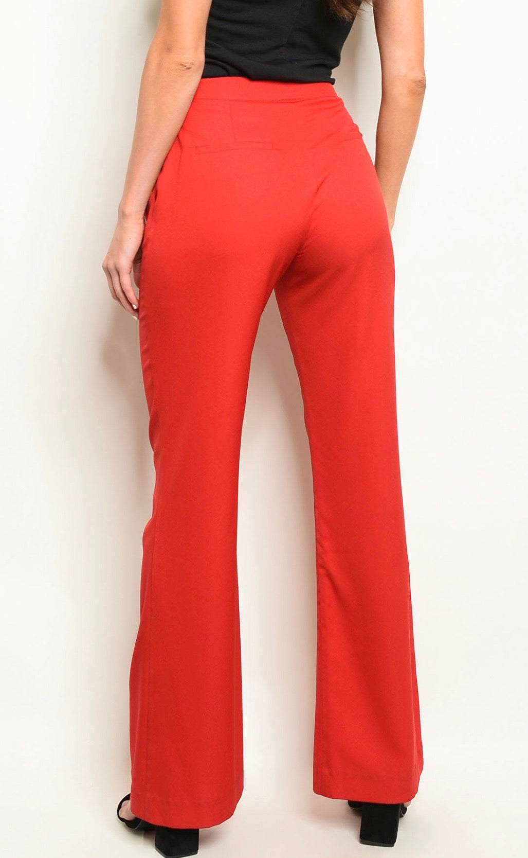 Red Dress Pants - LURE Boutique