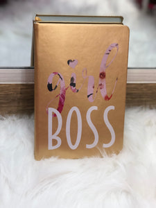 Girl Boss Leather Journal - LURE Boutique