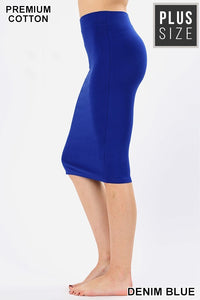 Plus Size Pencil Skirt - LURE Boutique