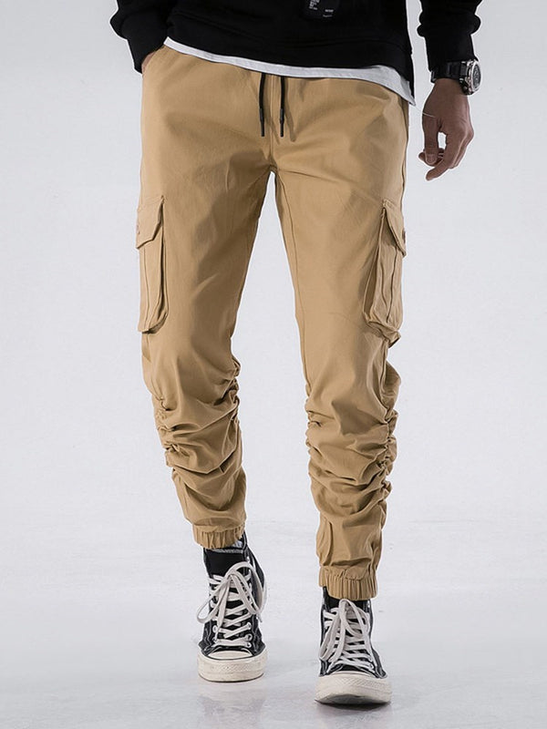 Herren Stretch Cargo Chino Hose – lookdressiy