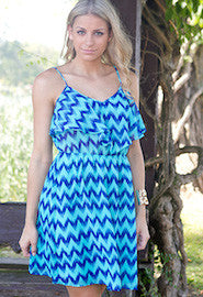 Flirty Chevron Dress