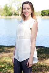 women's button down shirt with collar cute white shirt trendy juniors shirt top online clothing boutique affordable clothes online