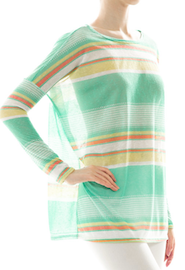 Relaxed Striped Tunic