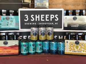 Pallet of 3 Sheeps Brewing Company (Assorted) - velourimports.com