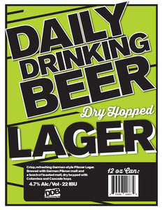 Daily Drinking Beer - velourimports.com