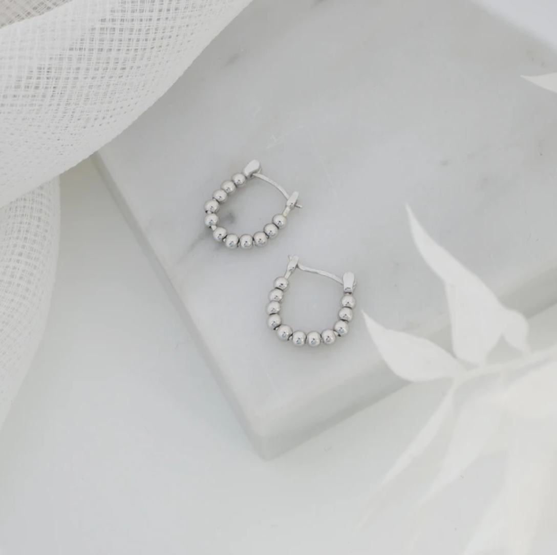 The Silver Collective Lennox Earrings (Gold & Silver)