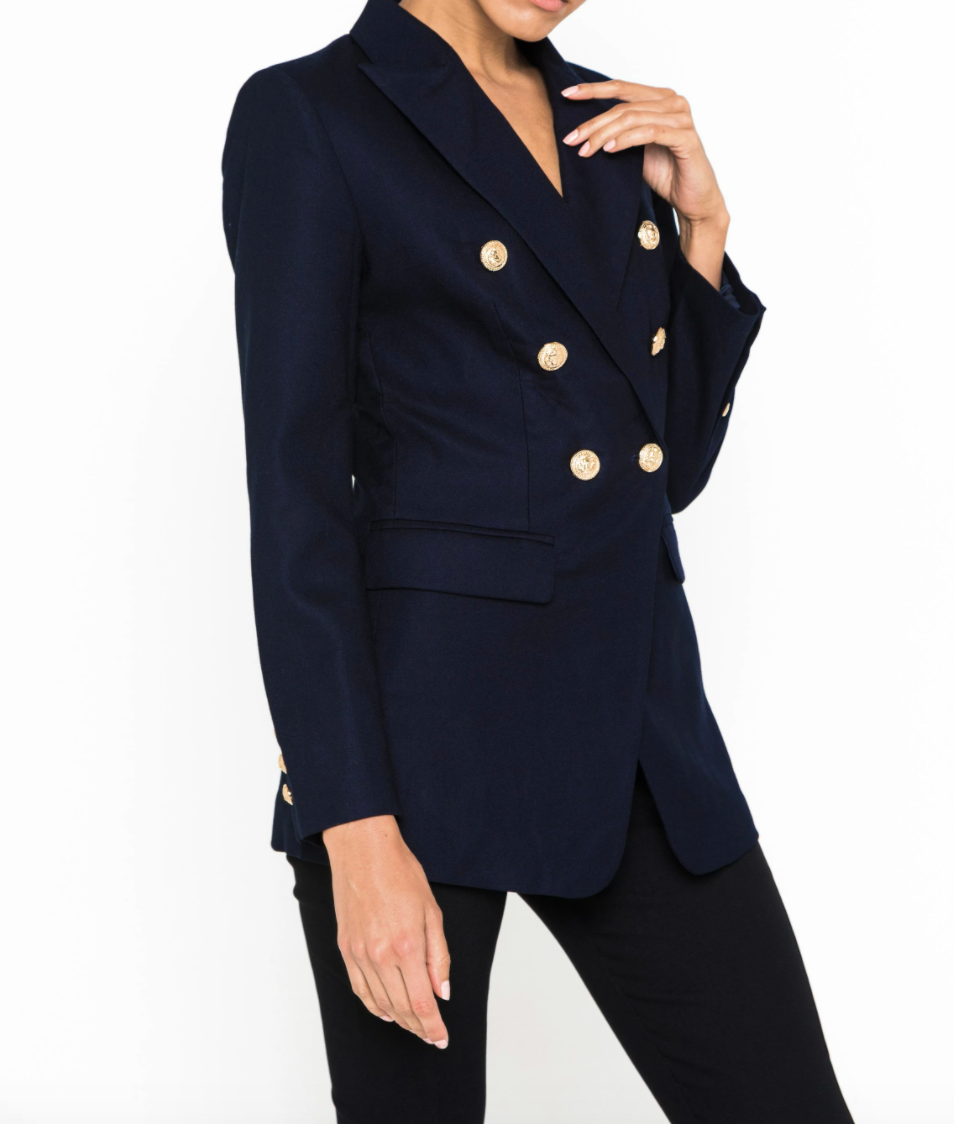 Mossman Signature Blazer in Black, Navy & Khaki