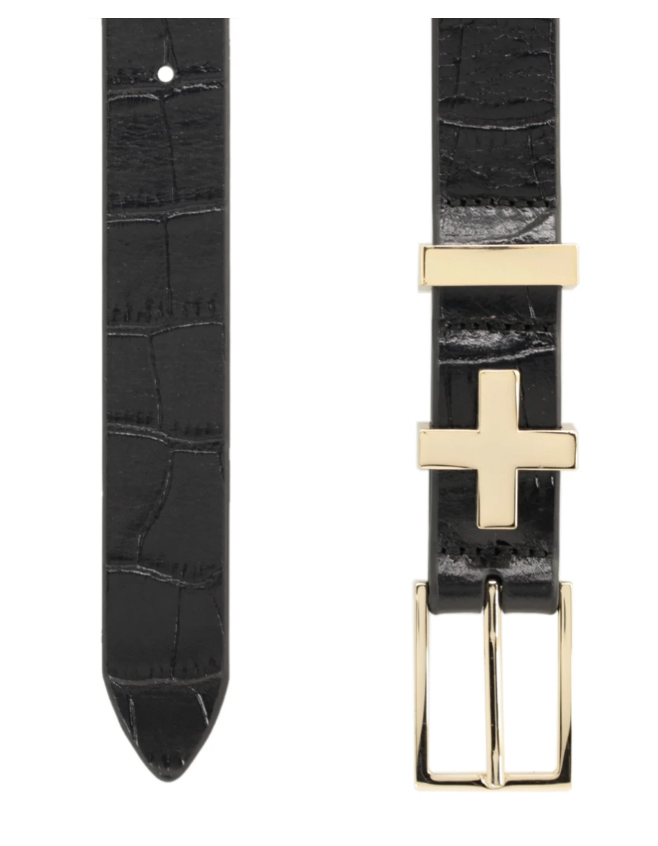 Dylan Kain Brooklyn Belt in Croc