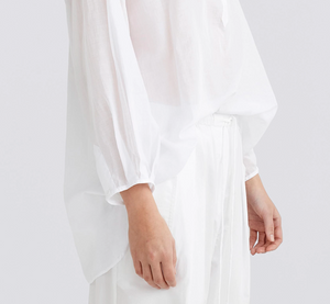 Jac + Jack Court Shirt in White
