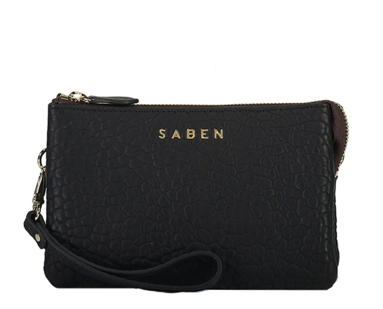 Saben Tilly Crossbody in Black Bubble