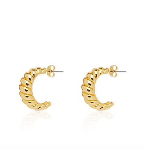 NOAH The Label Croissant Earrings